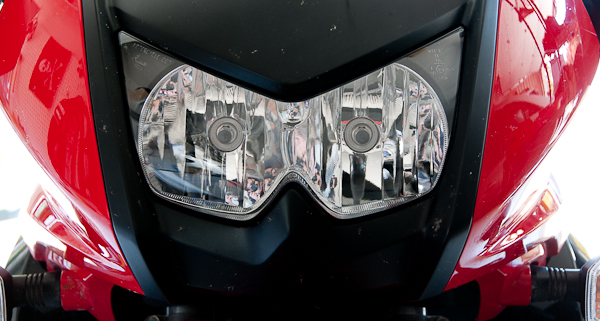 Kawasaki KLR 650 Headlamps